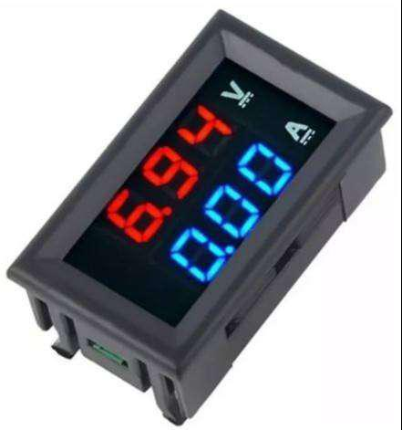 Voltímetro amperímetro digital dc 100v 10 amperios
