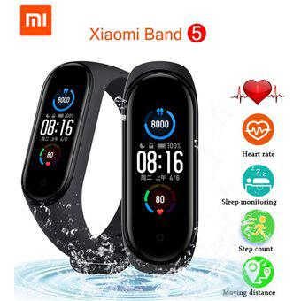 Xiaomi mi band 5 smartwatch nuevo original color negro