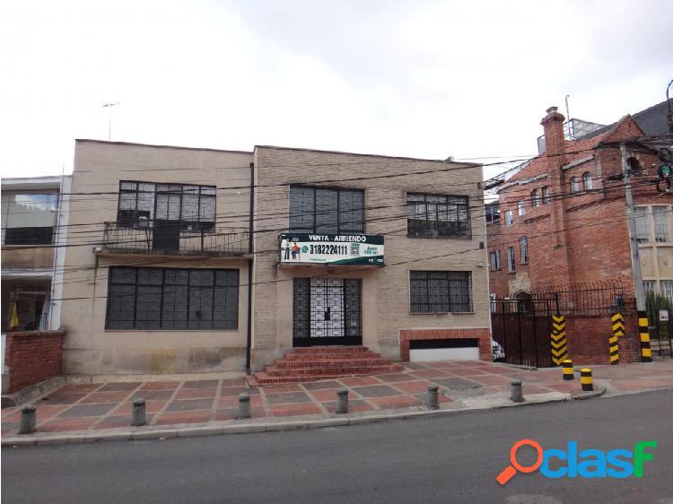Casa comercial en venta y arriendo barrio centro internacional bogotá