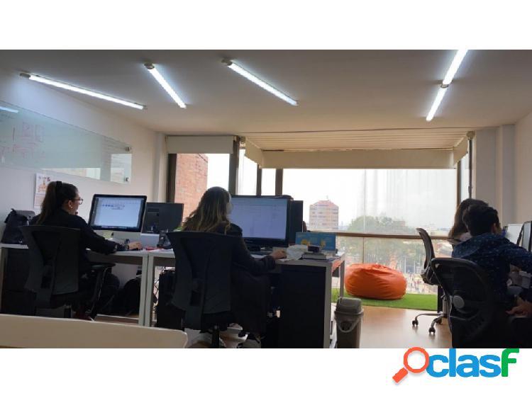 Bogota, alquilo oficina duplex 72 mts