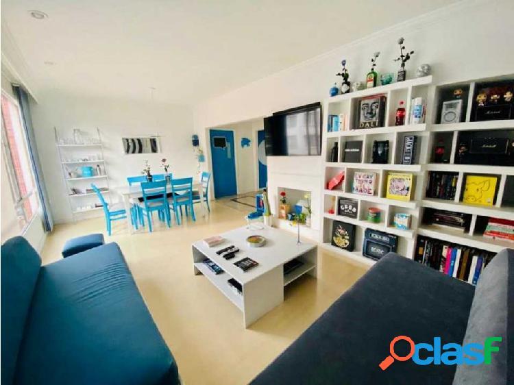 Venta, alquiler apartamento remodelado en chicó bogotá norte (j.p)