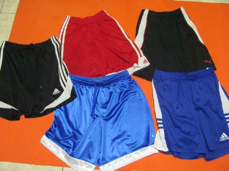 Adidas, puma pantalonetas 100 por ciento originales y