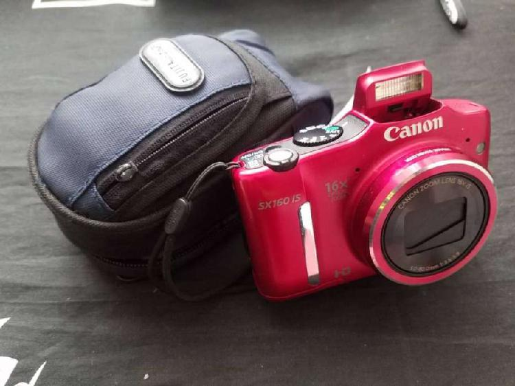Camara digital canon powershot sx160 is, en perfecta