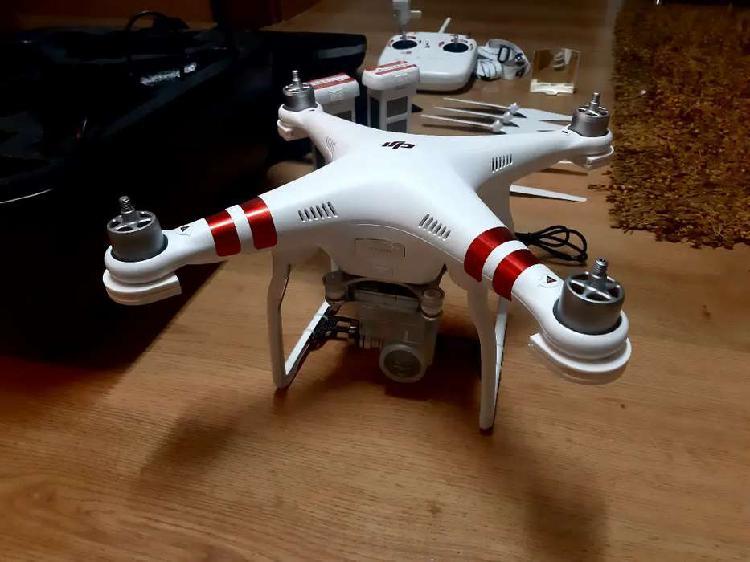 Drone dji phantom 3 standard. dos baterías, maleta akaso.