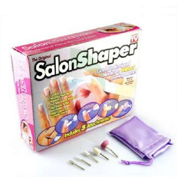 Kit manicure pedicure pulidor de uñas salon shaper