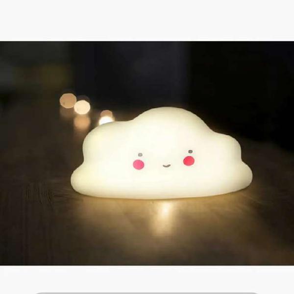 Lámpara led nube para bebé