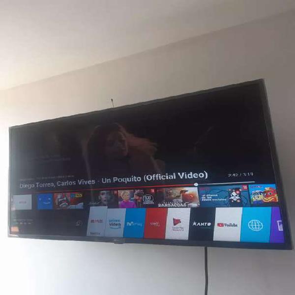Se vende tv 43' lg led smart tv full hd
