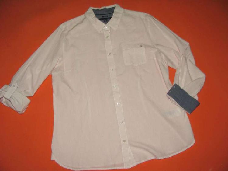 Tommy hilfiger camisa para mujer talla l. 100 por ciento