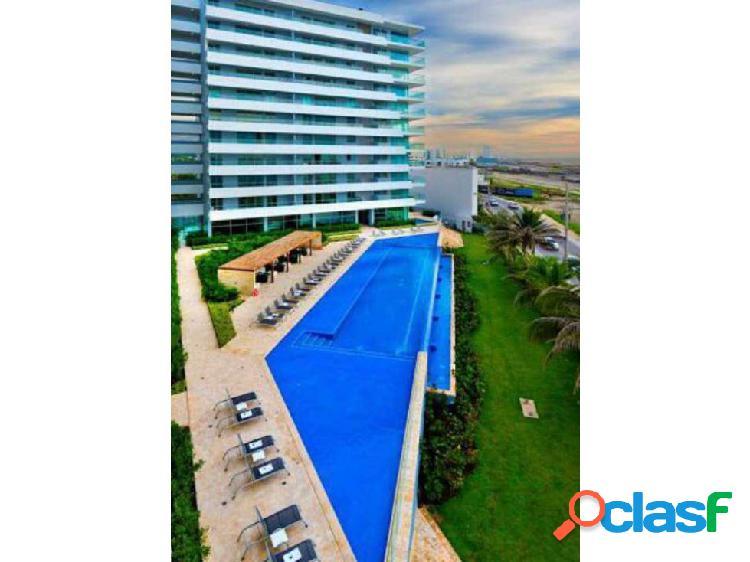 Vendemos apartamento de 2 habitaciones crespo. beach club. vista mar
