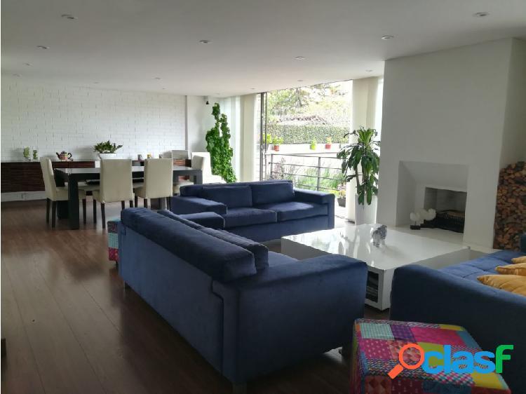Vendo / arriendo apartamento 140 m + 75 terraza san patricio 3h 3b 2g