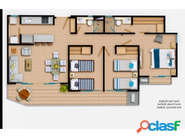 Venta Apartamento Zinnia, Serena del Mar. Cartagena 3