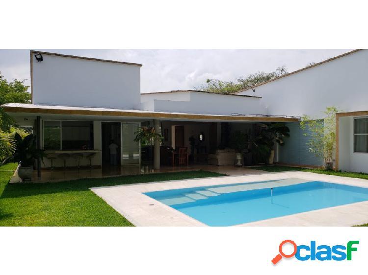 Casa en venta en condominio pance sur cali (mr.vc)