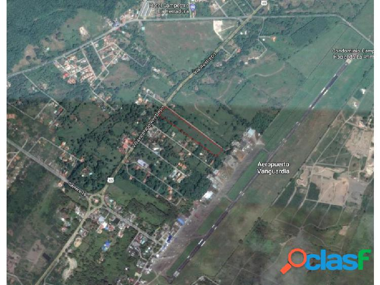 Lote 6 hectareas - aeropuerto vanguardia
