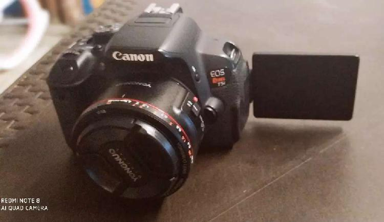 Canon t5i con lente 50mm