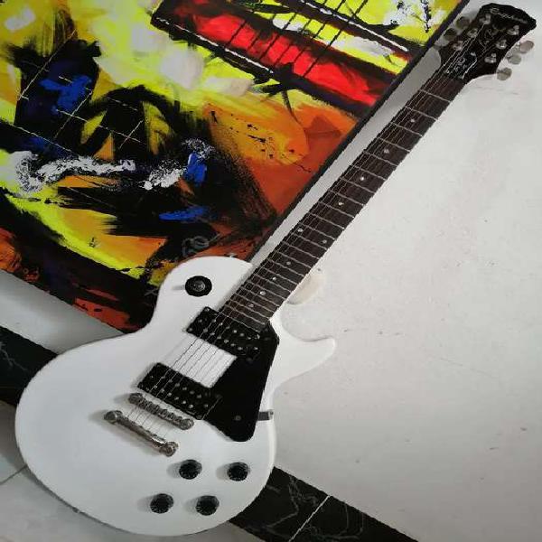Guitarra eléctrica epiphone les paul 100 impecable alpine