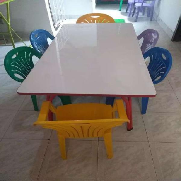 Venta de jardín infantil con mobiliario incluido (pei)