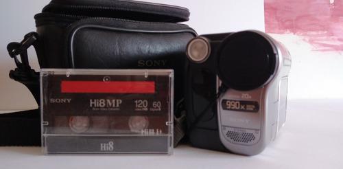 Cámara de vídeo digital filmadora sony digital 8