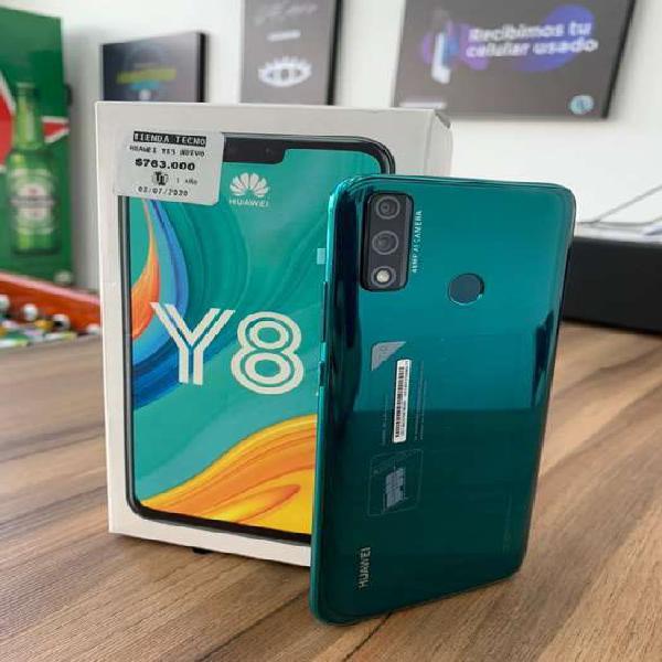 Huawei y8s nuevo. garantia de un año