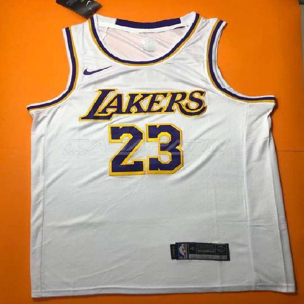 Nba lakers james lebron jersey camisilla camiseta baratas 23