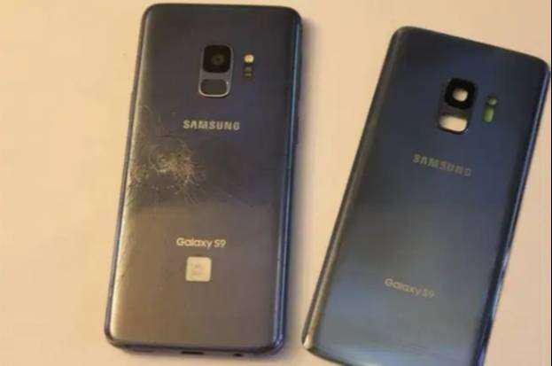 Samsung s9 o s9 plus tapa original (incluye la instalación)