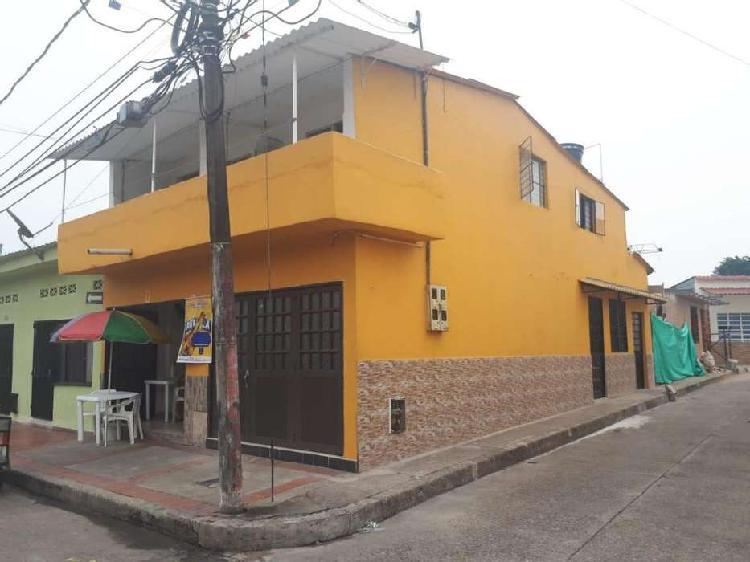 Venta de casa rentable barrio el enbudo villavicencio