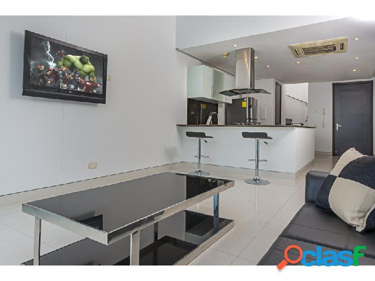 Venta apartamento duplex en castillogrande frente a la bahia