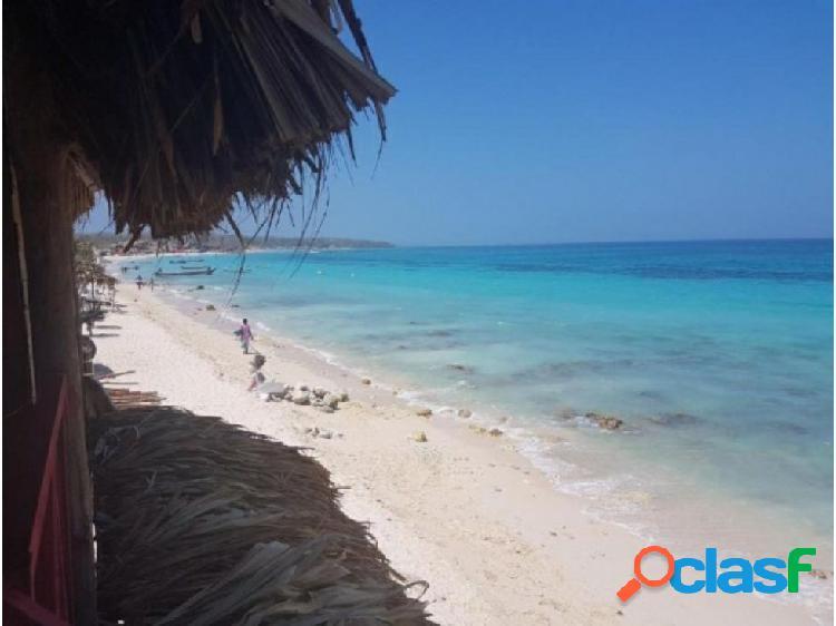 Linda cábaña de playa en venta playa blanca/cartagena oportunidad