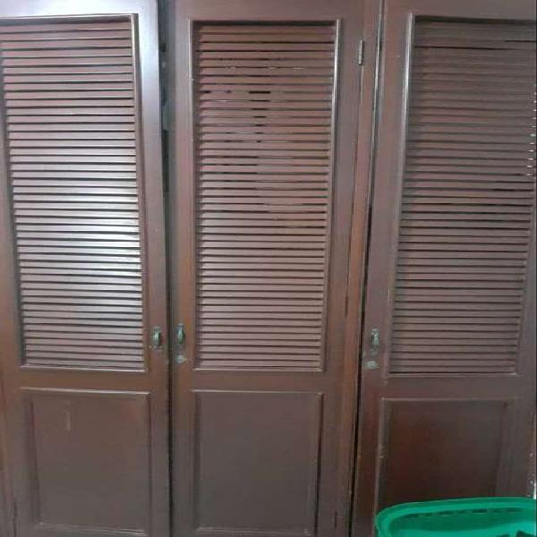 6 puertas de closet de rejillas