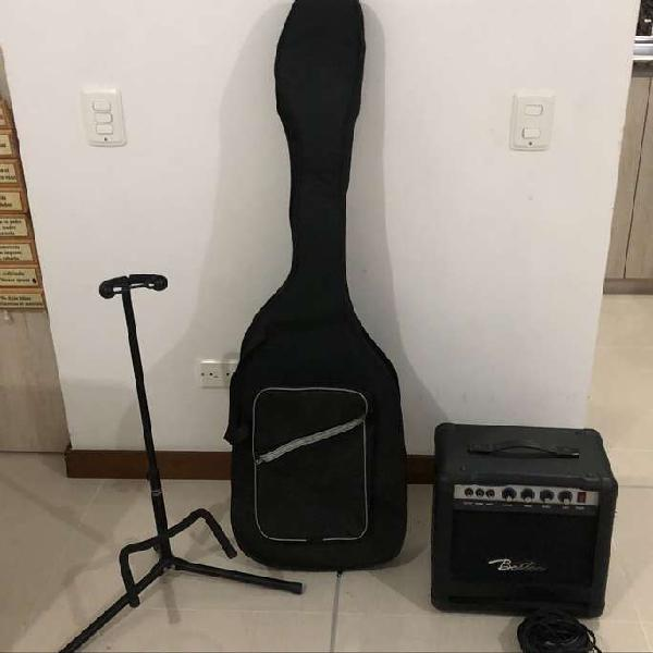 Bajo vorson (bb-200-5) + amplificador boston