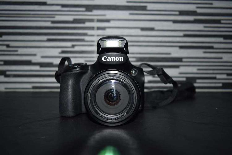Canon sx 60 hs, 16.1 mega pixles, modo de disparo deportivo,