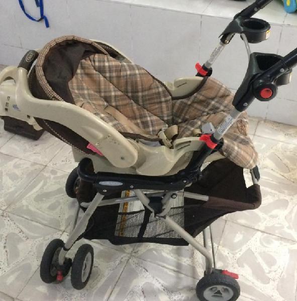 Coche + porta bebè
