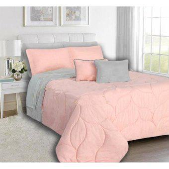 Cubrelecho edredón doble faz cama doble 140x190cm