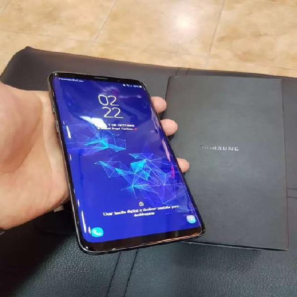 Samsung galaxy s9 plus. practicamente nuevo.