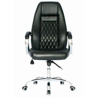 Silla de oficina gerencial tapizada ergonomica para pc -