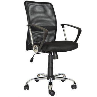 Silla para oficina giratoria ergonómica lian gerente negro