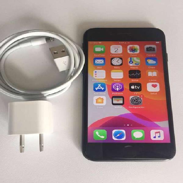 Iphone 7 negro 32 gb excelente estado bateria 81