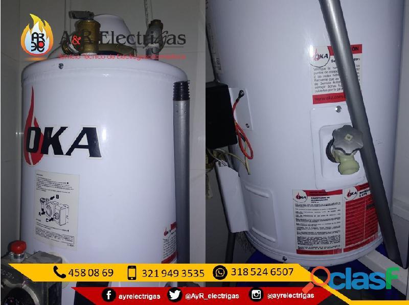 Servicio tecnico calentadores de acumulacion oka
