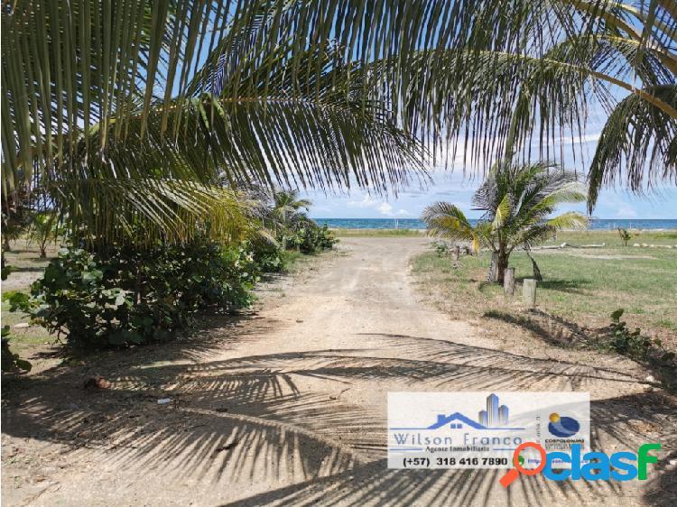 Lote, terreno en venta, manzanillo del mar, cartagena de indias