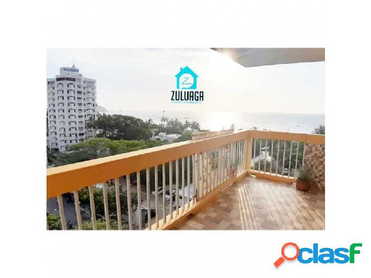 En Venta Apartamento en El Rodadero con Vista al mar