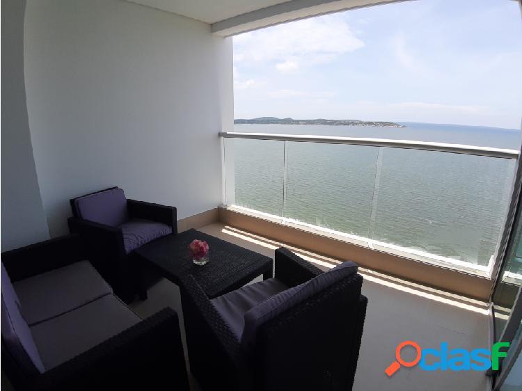 Apartamento en venta frente al mar 1 alcoba