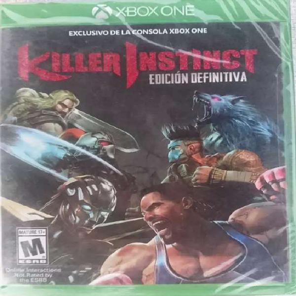 Killer instinct edición definitiva xbox one