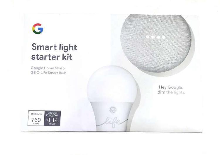 Kit google home smart light bombillo parlante interactivo