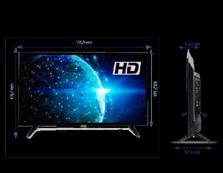 "Televisor challenger 32"" - 80 cm tecnologia led alta"