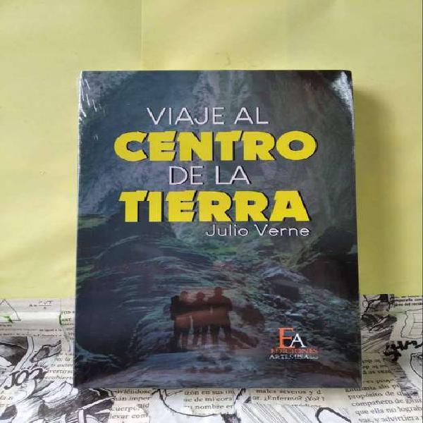 Libro clásico original viaje al centro de la tierra