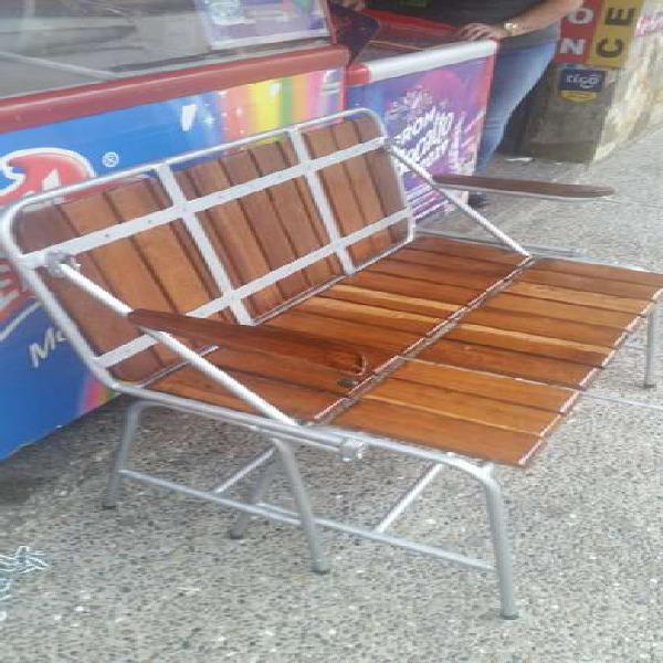 Mesa silla convertible metalica