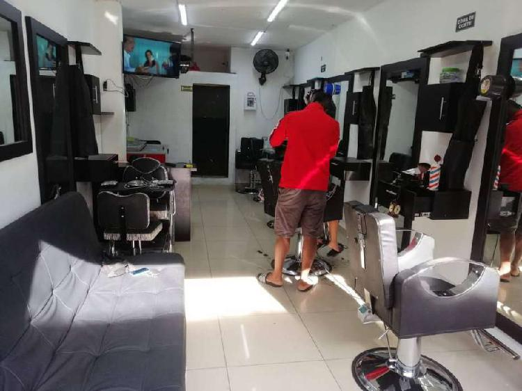 Vendo barbería excelente ubicación
