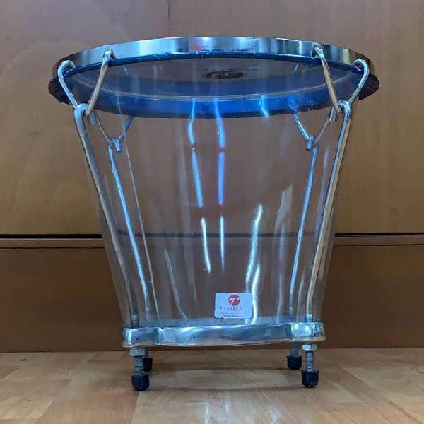 Caja vallenata acrílico la colonia transparente (cav-06-02)