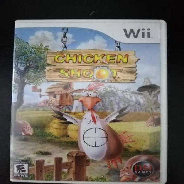 Chicken Shoot Wii Wii U 10/10 Cambio o Vendo