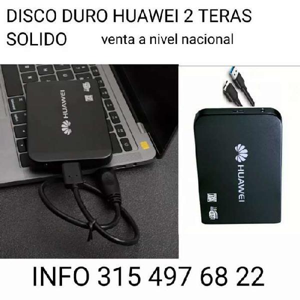 DISCO 2 TERAS ESTADO SOLIDO
