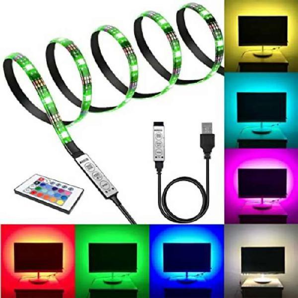 Luces led multicolor para tv